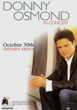 Donny Osmond 2007 Tour Odyssey Arena Belfast Concert Flyer / Handbill / Nmt
