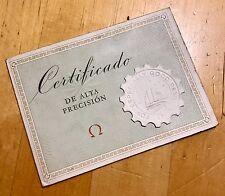 OMEGA orologio vintage certificato cronometro cosc Speedmaster Broad Arrow 1960's