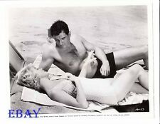 Rock Hudson barechested VINTAGE Photo Doris Day busty sexy Lover Come Back