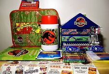 Jurassic MIB Lost World Set: 40 Piece Art Set; THERMOS & Lunch Box; POSTERBOOK