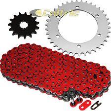 Red O-Ring Drive Chain & Sprockets Kit Fits KAWASAKI ZR7 ZR7S ZR750 2000-2004