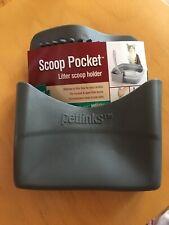 New listing Petlinks Scoop Pocket Litter Scoop Holder