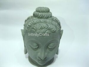 8 Inch Shop Stone Lord Buddha Decent Look Head Statue Perfect Gift  All Occasion