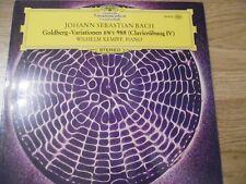 BACH - GOLDBERG-VARIATION BWV 988 (CLAVIERUBUNG ) DEUTSCHE GRAMMOPHON TULIPS LP