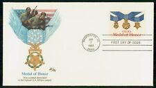 Mayfairstamps US FDC 1983 Medal of honor first Day cover wwe2141