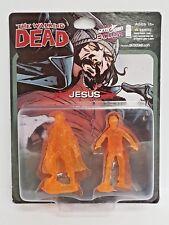 The Walking Dead JESUS & WALKER Orange Mini Figure Skybound Con Exclusive TWD