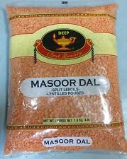Masoor Dal, Red Lentil - 4 lbs, USA Seller Free Shipping!
