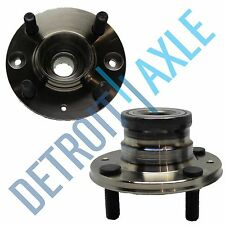 Pair: New REAR Colt Mirage Summit 4 Bolt Complete Wheel Hub and Bearing Assembly