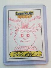 Garbage Pail Kids Sketch Card ADAM BOMB Fred Wheaton Flashback Series 3