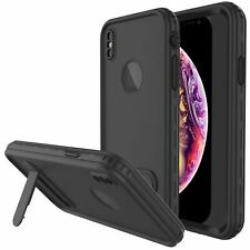 iPhone XR Waterproof Case, Punkcase [KickStud Series] Armor Cover + Kickstand
