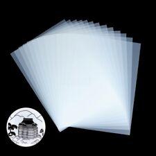 20 Sheets Waterproof 8.5'' x 11'' Inkjet Transparency Film Silk Screen Printing