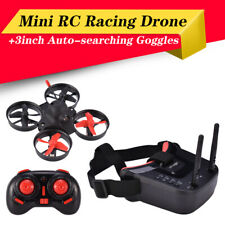 Camera Mini Pocket RC Racing Drone Quadcopter Auto-searching Goggles Receiver