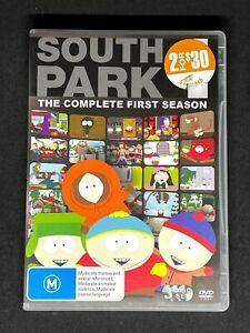 South Park The Complete First Season - Season 1 Region 4 DVD 3 Disc Set - VGC