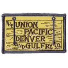 Patch- Union Pacific Denver & Gulf Railway  # 11843 -NEW -Free Ship