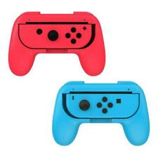 2 Black Blue Red Controller Grip Handles for Nintendo Switch Joy-Con