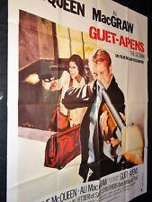 GUET-APENS Getaway steve mqueen  Sam Peckinpah ali macgraw  affiche cinema
