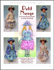 """Petit Nuage"" Fashion Pattern for Kish Chrysalis Dolls"