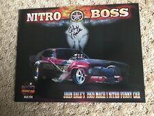 John Hale Autograph Nitro Boss Nostalgia Funny Car Handout
