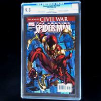 AMAZING SPIDER-MAN #529 💥 CGC 9.8 💥 1ST APP IRON SPIDER COSTUME! CIVIL WAR