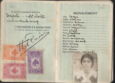 LEBANON- PALESTINE - EGYPT Rare Lot of Consular Revenues 1935s