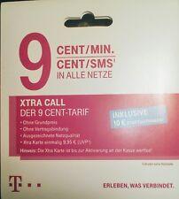 VIP-Nummer  5000296  Xtra Call Telekom Card NEU Prepaid Gold Sim incl. 10,-  €