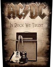 Ac/dc In Rock We Trust Backpatch Standard