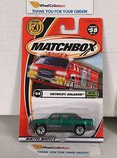 Chevrolet Avalanche #58 * Green/Grey * Matchbox * NA24