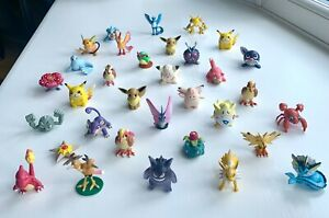 POKEMON 1999 Vintage C.G.T.S.J Tomy Figures- Rare - Choose figure - Gen 1 + 2