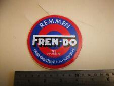 R6* sticker FREN-DO REMMEN BRAKES GENT race GP F1 cross racing rally autocollant