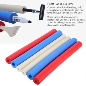 Non-slip Foam Handle Sleeve Cover Utensils  Pen Foam Grip Tubing MR