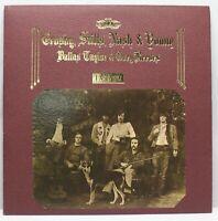 Crosby, Stills, Nash & Young Déjà Vu Atlantic Textured Gatefold LP SD 19118 M-