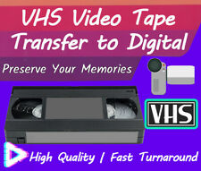 Convert VHS Tape To DVD High Quality Video Tape Transfer To Digital Service