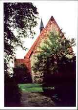Kirchen Motiv-Postkarte KIRCHE in CAMMIN Landkreis Doberan Echtfoto-Ansichtskart