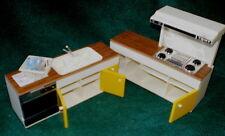 Tomy Miniatures,  Kitchen, 2 piece Plastic, Vintage,Japan