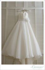 Mori Lee style 4808 size 8 ivory with a custom made corset