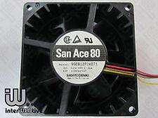 Sanyo 8CM 8038 4Pin PWM 5200-7000 RPM 1.8A Powerful Server Computer case fan