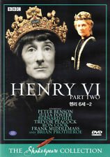 Shakespeare Henry VI / Sixth 6th (Part Two) - Peter Benson - BBC Collection DVD
