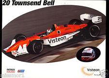 Townsend Bell 2002 Car Driver promo sponsor Picture Visteon 8x10 CART #20
