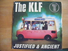"""The KLF - Justified & Ancient with PICTURE SLEEVE - 7"""""""