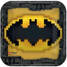 Lego Batman fiesta Cumpleaños gama - vajilla globos & Decoración Amscan 8 X platos de papel 23 cm