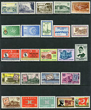 TURKEY COLLECTION MINT NH 1958-73