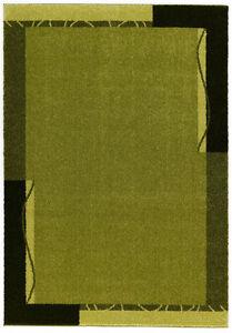 Astra Samoa Teppich Uni 6870//001//030 Grün 80x150cm NEU