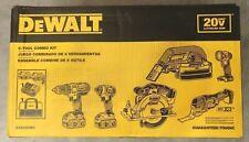 Dewalt Dck623M2 6-Tool Combo Kit 20v W/ 2 4Ah Batteries, Charger, Bag - New !