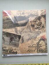 gartner studios scrapbook paper 12 X 12 Old World collage 25 sheets New package