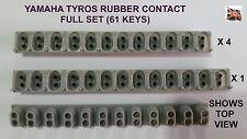 Yamaha Tyros key rubber contact Full Set 4x12way, 1x13way 61 key sensing switch