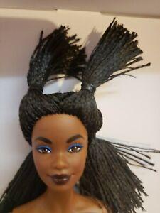 NUDE DOLL Barbie x Jean Michel Basquiat Barbie Doll Gold Label