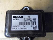 Smart Coche Fortwo Ciudad Coupe Cabrio 698cc 0009493V002 Sensor de guiñada ESP