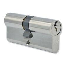 35/35 Euro Cylinder Lock Anti Bump uPVC Aluminium Door Barrel Pair