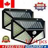 114/100LED Solar Power Light PIR Motion Sensor Outdoor Garden Security Wall Lamp