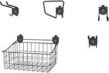 Garage Wall Storage Organizer Hooks Holder Basket Panels Geartrack Gladiator